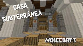 UNA HERMOSA CASA SUBTERRÁNEA | CASAS DE SUBS EN MINECRAFT