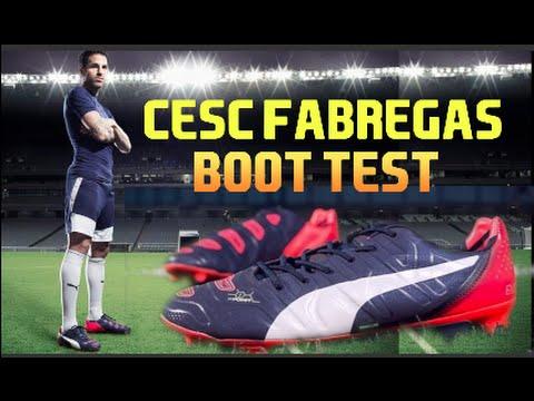 Cesc Fabregas' Boot Test | Puma EvoPower 1.2 FG | F2Freestylers