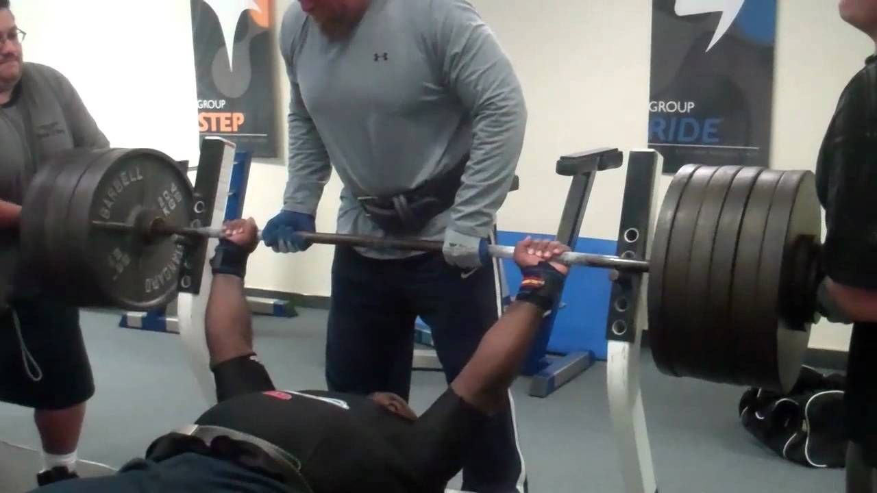 how much does lebron james bench press