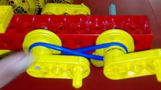 Gears v/s Pulley Using LEGO ESM Model