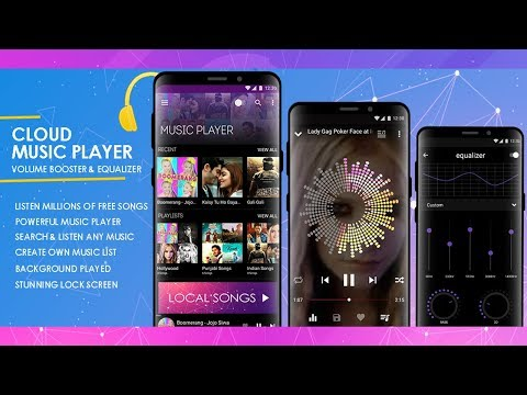 Cloud Music Player: Volume Booster - Equalizer – Apps on