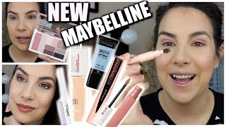 MAKEUP PLAYTIME & WEAR TEST | New Maybelline & More
