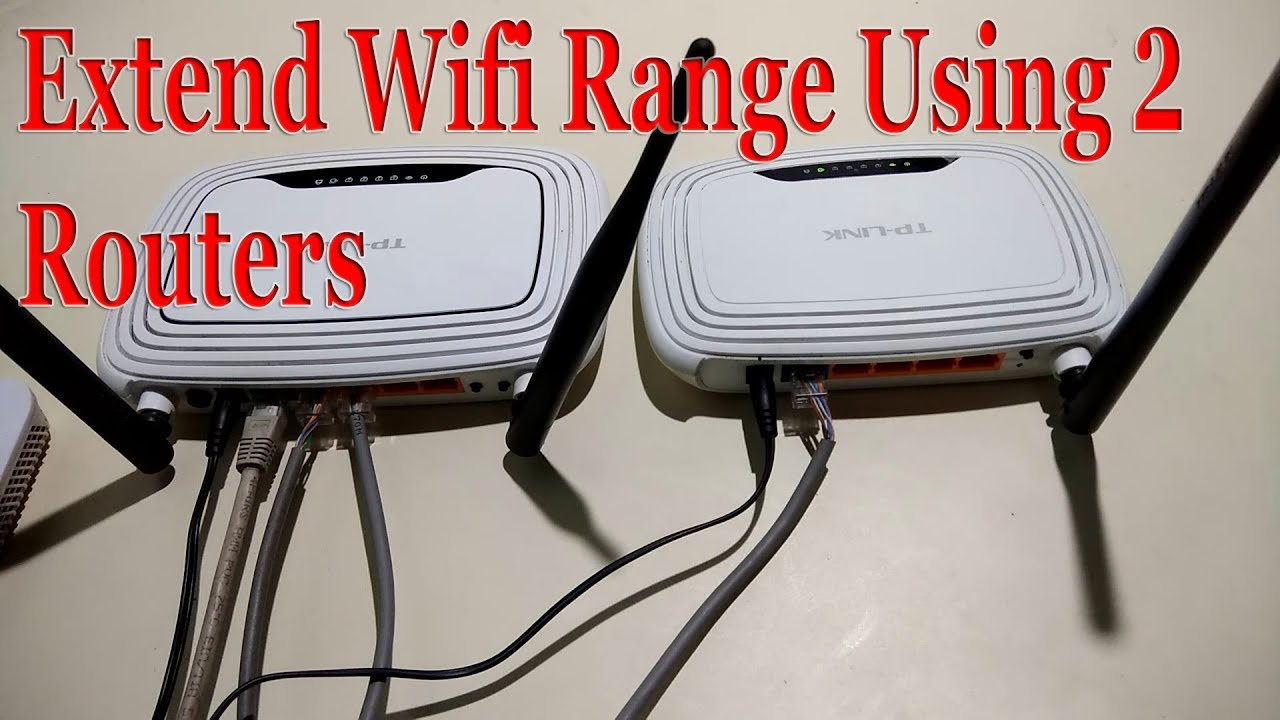 Extend your WiFi range with WiFi repeater setup|use an old ...