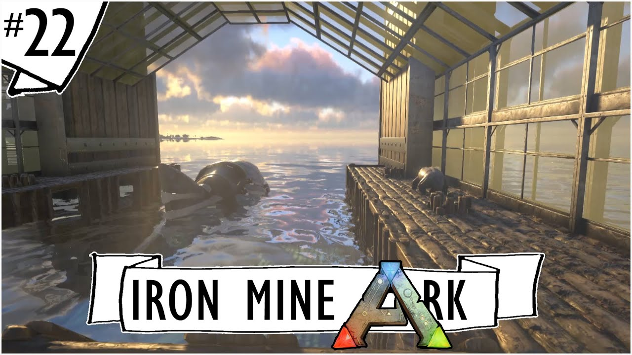 Ark Survival Evolved Ep 22 Megalodon Pen With A
