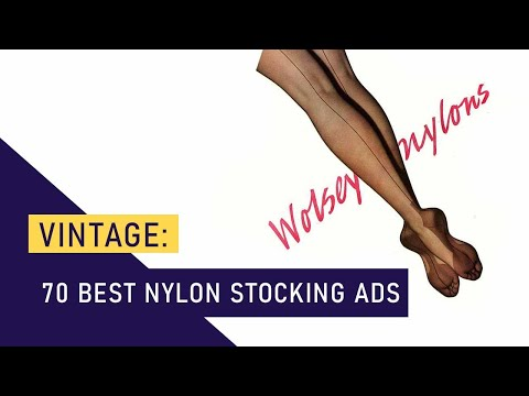70 Best Vintage Nylon Stocking Ads