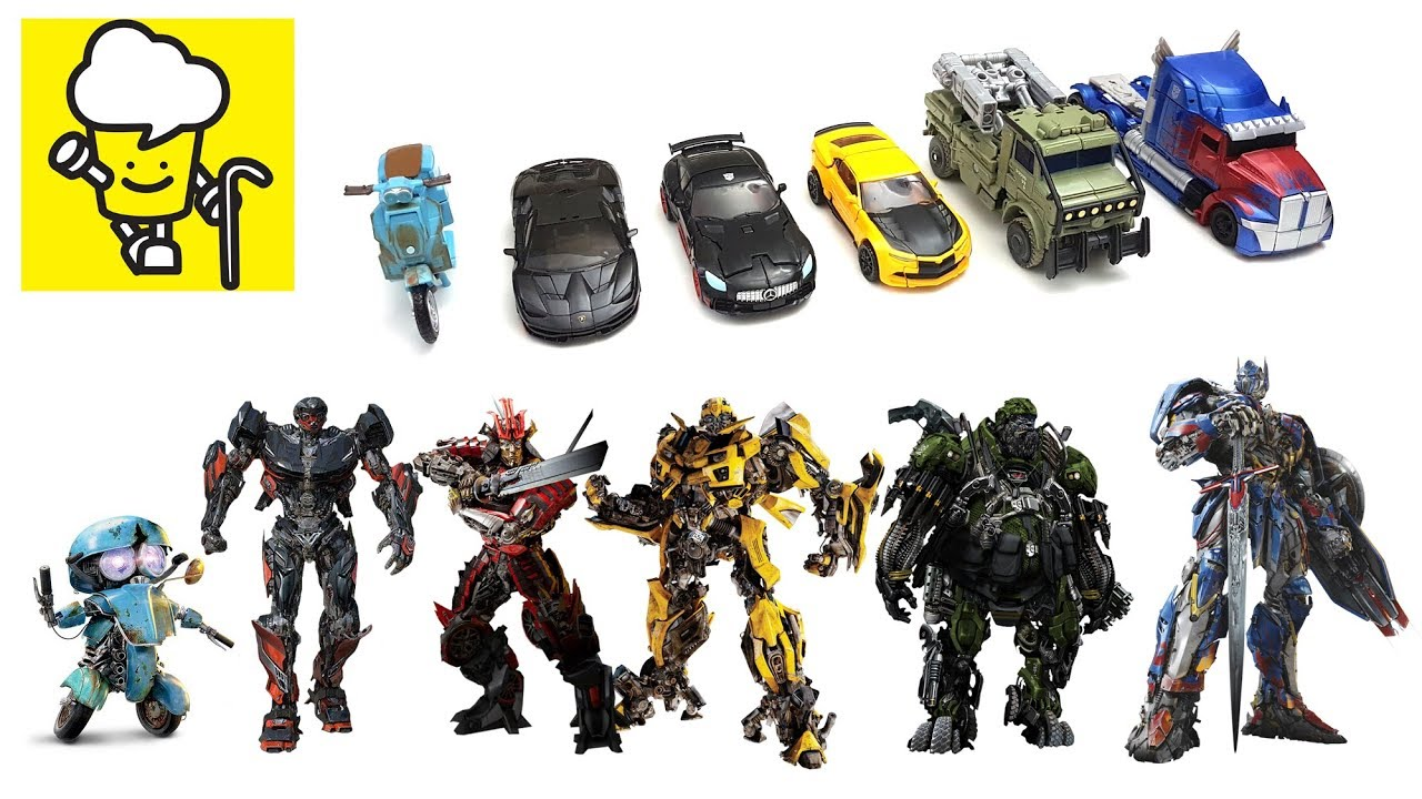 Transformers Movie 5 The Last Knight Toys With Optimus Prime Bumblebee Hot Rod