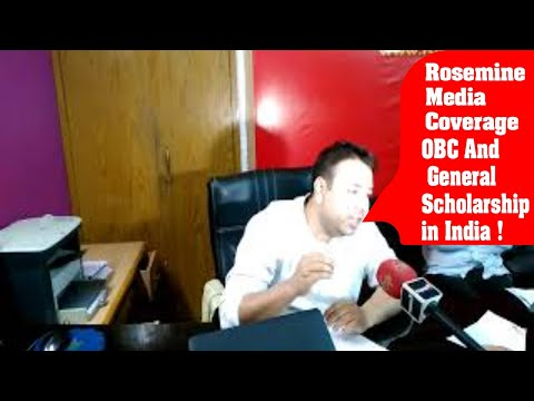 OBC And General Scholarship in India