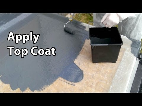 Part 5 Fibreglass RoofingTopcoat - GRP Flat roof colour