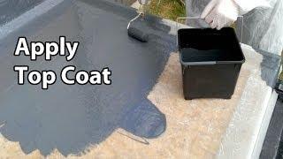 Part 5 Fibreglass RoofingTopcoat  GRP Flat roof colour