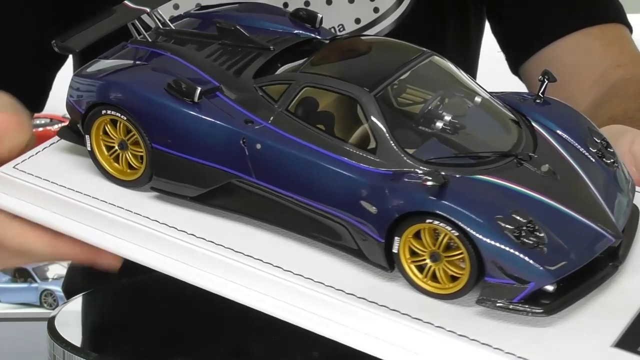 PAGANI ZONDA TRICOLORE by PEAKO MODELS 1/18 - Full Review - YouTube