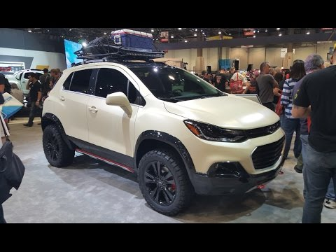 Chevy TRAX active :SEMA 2016 - YouTube