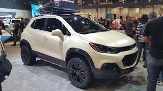 Chevy TRAX active :SEMA 2016