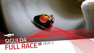 Sigulda | BMW IBSF World Cup 2019/2020 - Men's Skeleton Heat 2 | IBSF Official