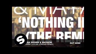 Sander van Doorn & Mayaeni - Nothing Inside (Julian Jordan Remix)
