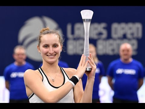 2017 Biel Final | Marketa Vondrousova vs Anett Kontaveit | WTA Highlights