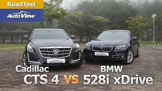 [오토뷰] 캐딜락 CTS 4 vs BMW 528i xD…
