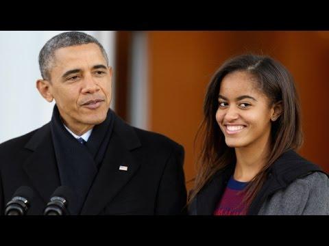 Malia Obama Caught Smoking Pot