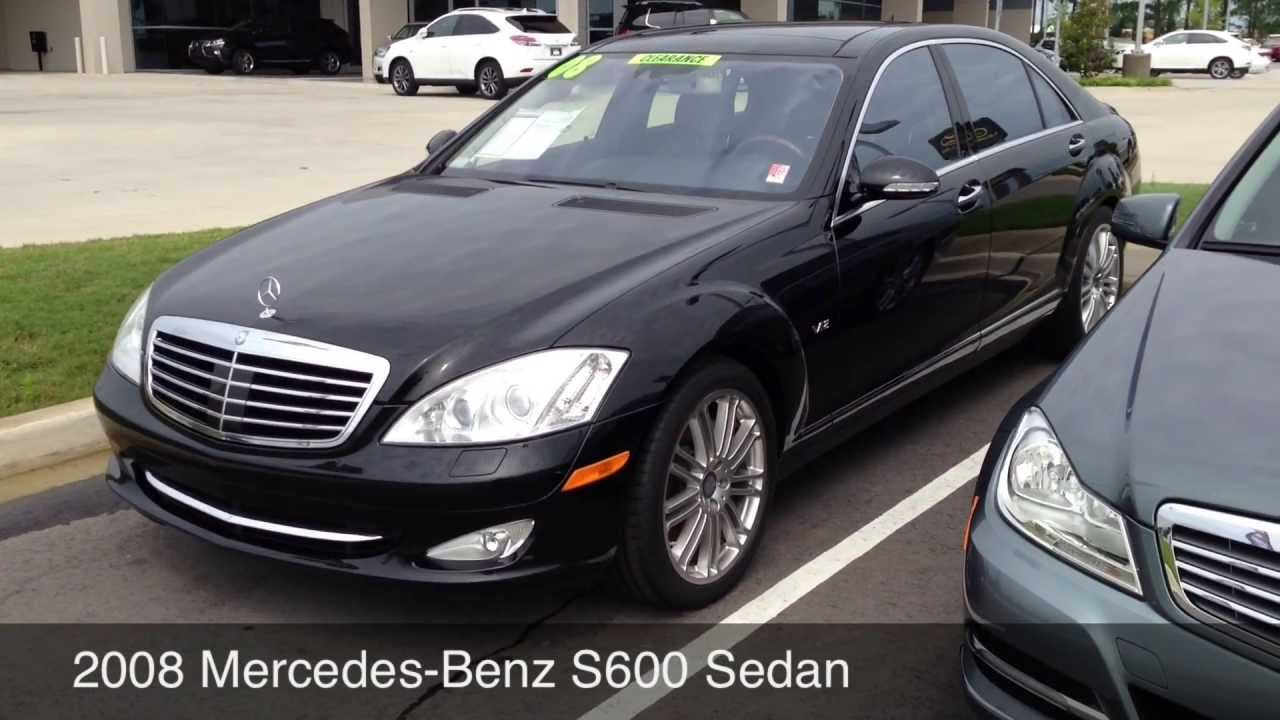 Jim Hudson Cadillac >> 2008 Mercedes-Benz S-Class S600 sedan for sale in Columbia SC - YouTube