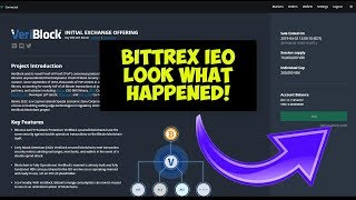 Investing Into Bittrex IEO Veriblock Here's What Happened!