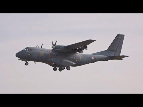 CASA IPTN CN-235M-200 French Air Force arrival at RIAT 2016 AirShow
