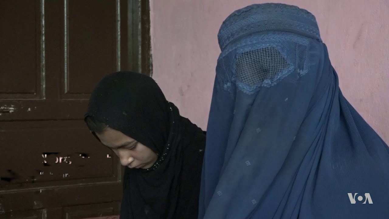 12-Year-Old Afghan Girl Loses Both Legs to a Land Mine