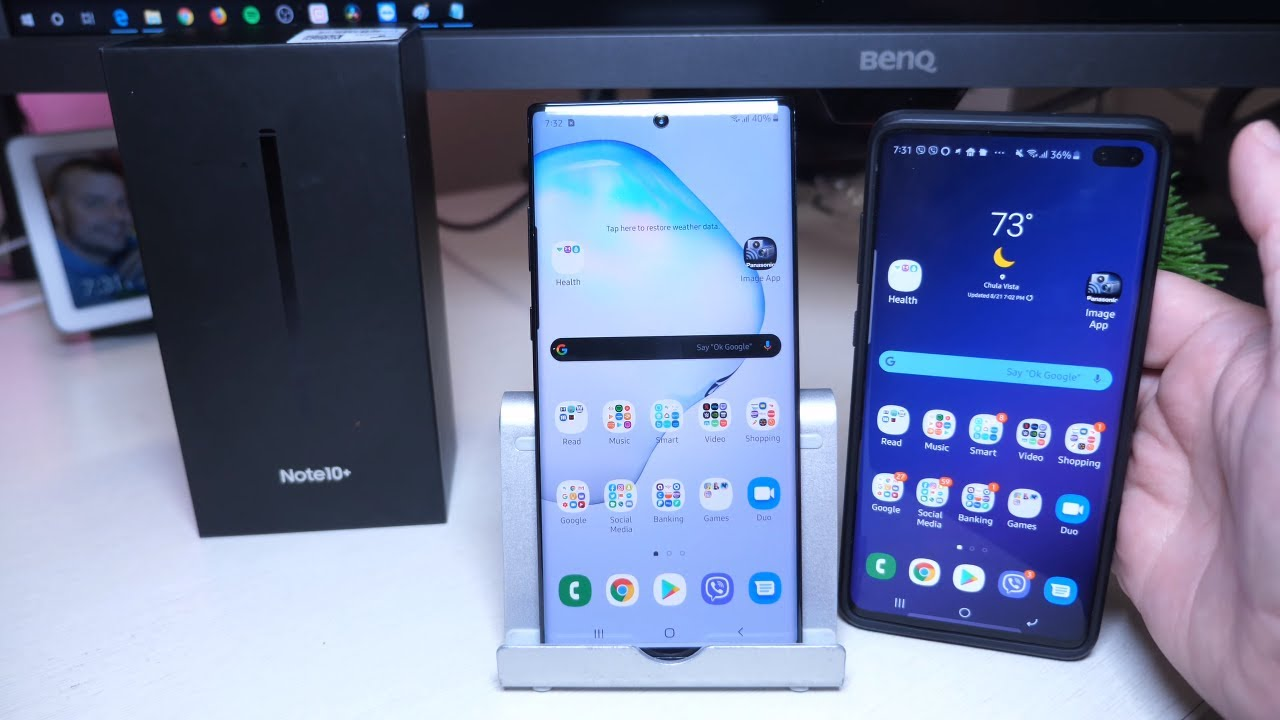 Samsung Galaxy Note 10 Plus 512GB Black Unlocked Unboxing and First Impressions