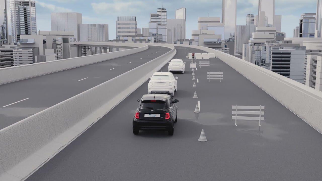 Nuevo 500 Eléctrico - Fiat CoDriver con Traffic Jam Assist
