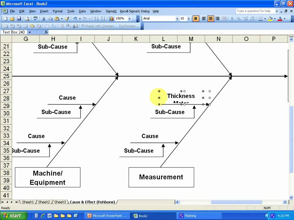 lean six sigma cause and effect diagram template transistor wiring fishbone how to construct a youtube