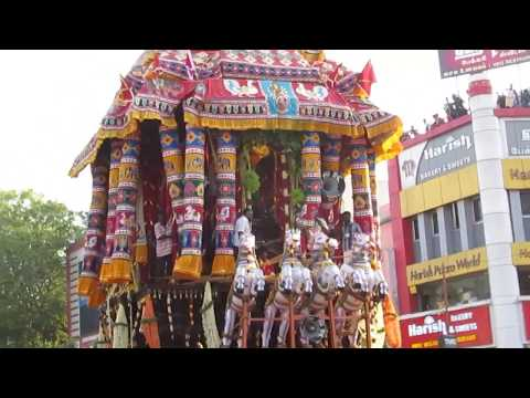 மதுரை மீனாட்சி சித்திரைத் திருவிழா 2017 தேரோட்டம் | Madurai Meenakshi Chithra Festival Therottam