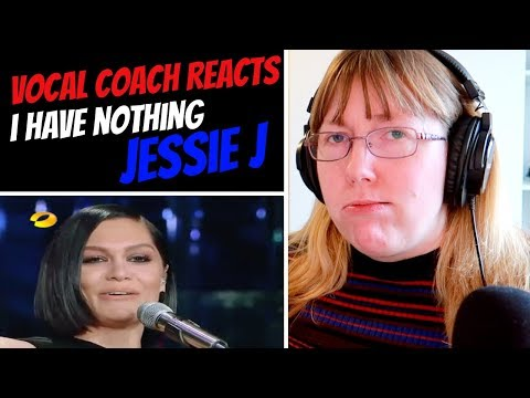 Vocal Coach Reacts to Jessie J &39;I Have Nothing&39; Whitney Houston