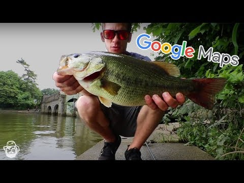 How To Find Local Fishing Spots Using Google Maps!