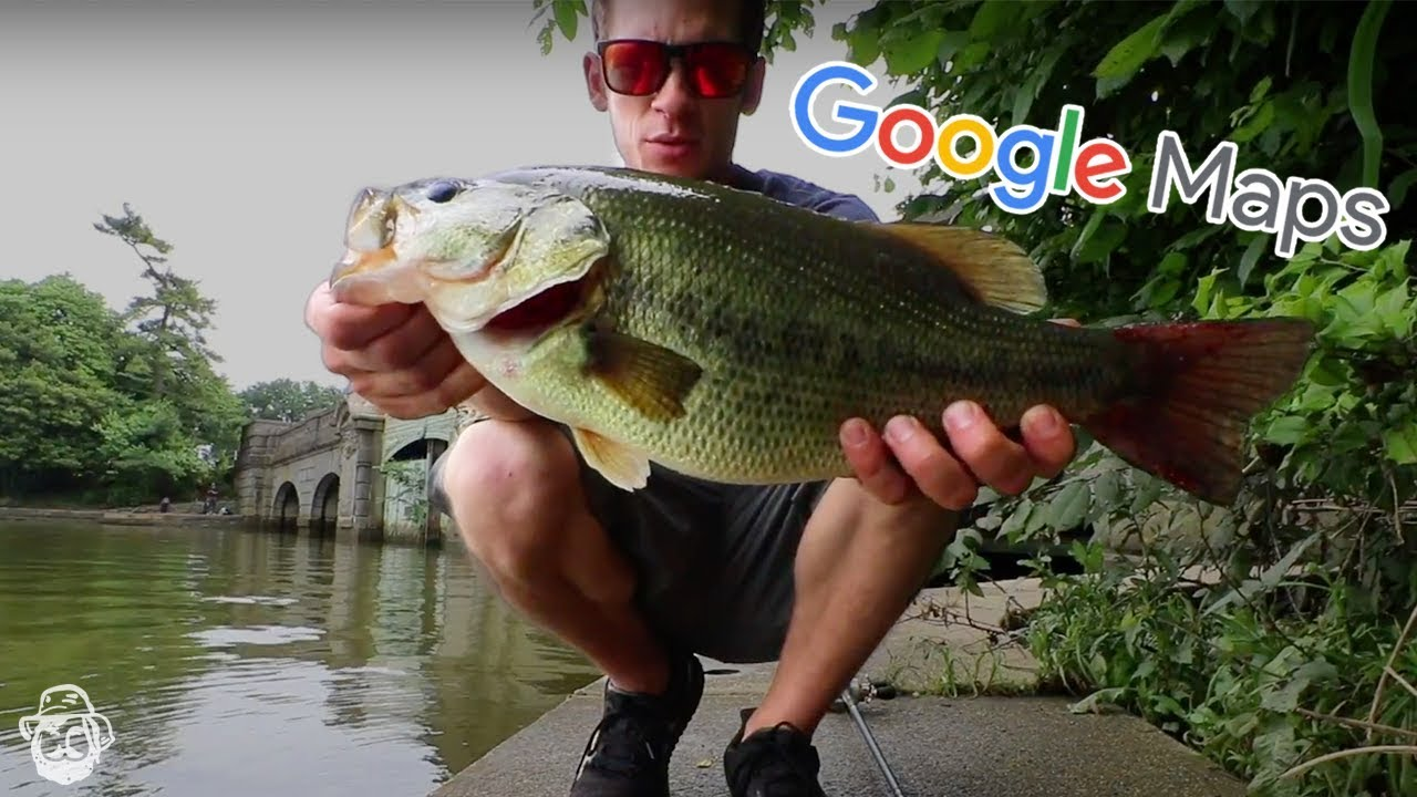 How To Find Local Fishing Spots Using Google Maps Youtube