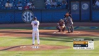 Auburn Baseball vs Tennessee Highlights SEC Tournament