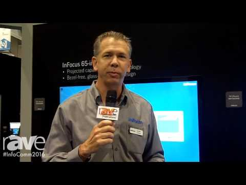 InfoComm 2016: InFocus Showcases JTouch With Capacative Touch Technology