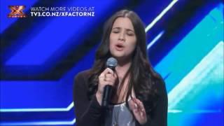 Jackie Thomas- Skinny Love (NZ X-Factor audtion) YouTube Videos