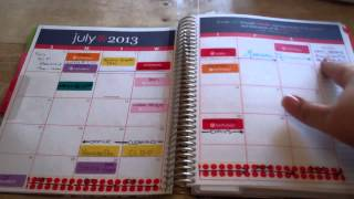 Erin Condren 2014 Life Planner Review - High Quality