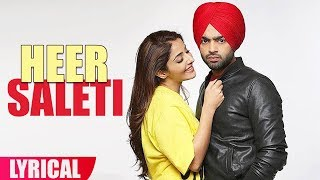 Heer Saleti (Lyrical Video) | Jordan Sandhu | Sonia Maan | Bunty Bains | Speed Records