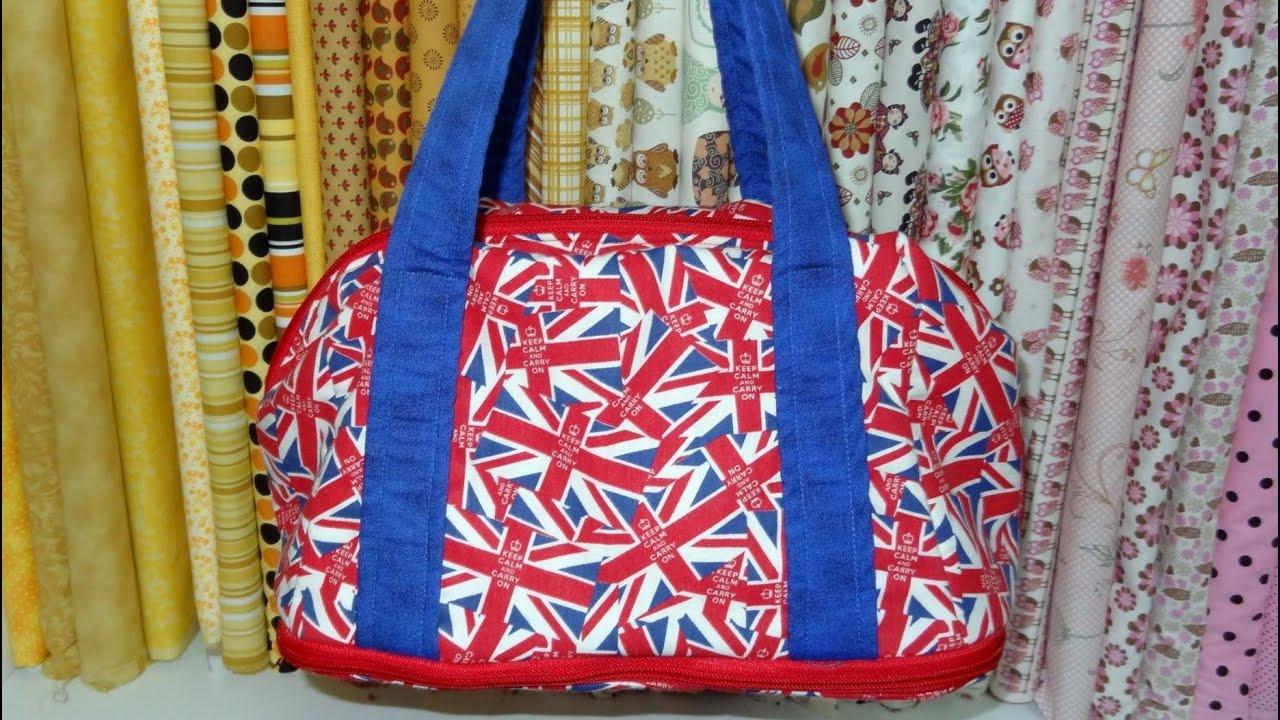 Bolsa Em Passo Fundo : Bolsa de tecido plus diy fabric bag make a
