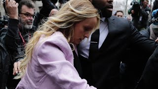 Stormy Daniels Arrives at NY Courthouse