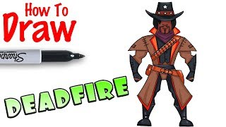 How to Draw Deadfire | Fortnite