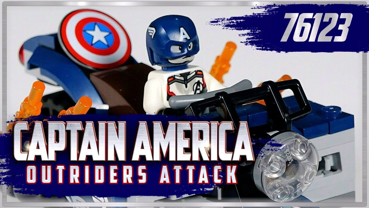 Lego Avengers Endgame Captain America Outriders Attack 76123 Lego Quick Review