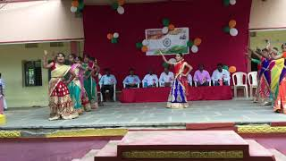 Chinni Chinni ashalunna paruvaaniki dance performance by Kbs students