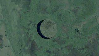 Zagadkowa ruchoma wyspa, nasamym środku argentyńskiego bagna