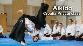 Aikido in Croatia Zagreb Private class with Vedran
