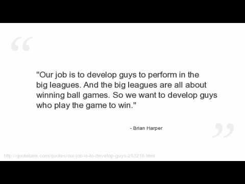 Brian Harper Quotes
