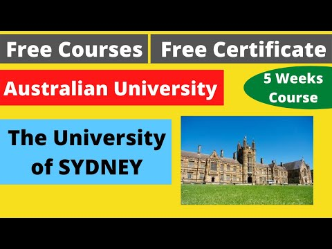free-certification-course-|-the-university-of-sydney-|-free-online-courses-|-#deepshukla