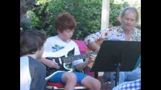 Ciaran and Dearin play Samba Pa Ti 2012 Slow Point concert.AVI