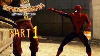 Spider-man Homecoming Main Story - Part 1 - The Amazing Spider-man 2 (PC) MOD