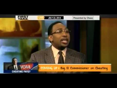 ESPN commentator Stephen A. Smith defends Tony Dungy