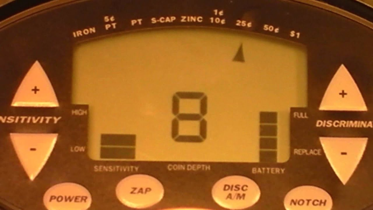 discovery 2000 metal detector manual